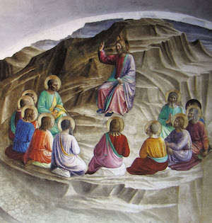 Bergpredigt Jesu Quinque Rosenkreuzer